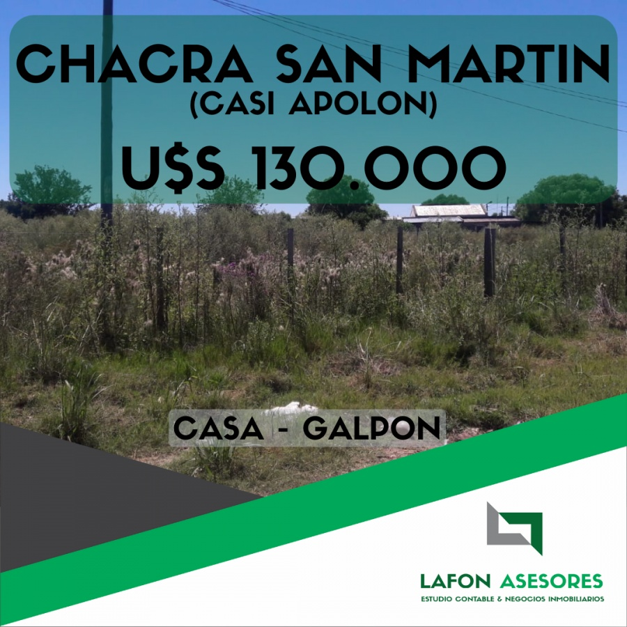 CHACRA SAN MARTIN CASI APOLON