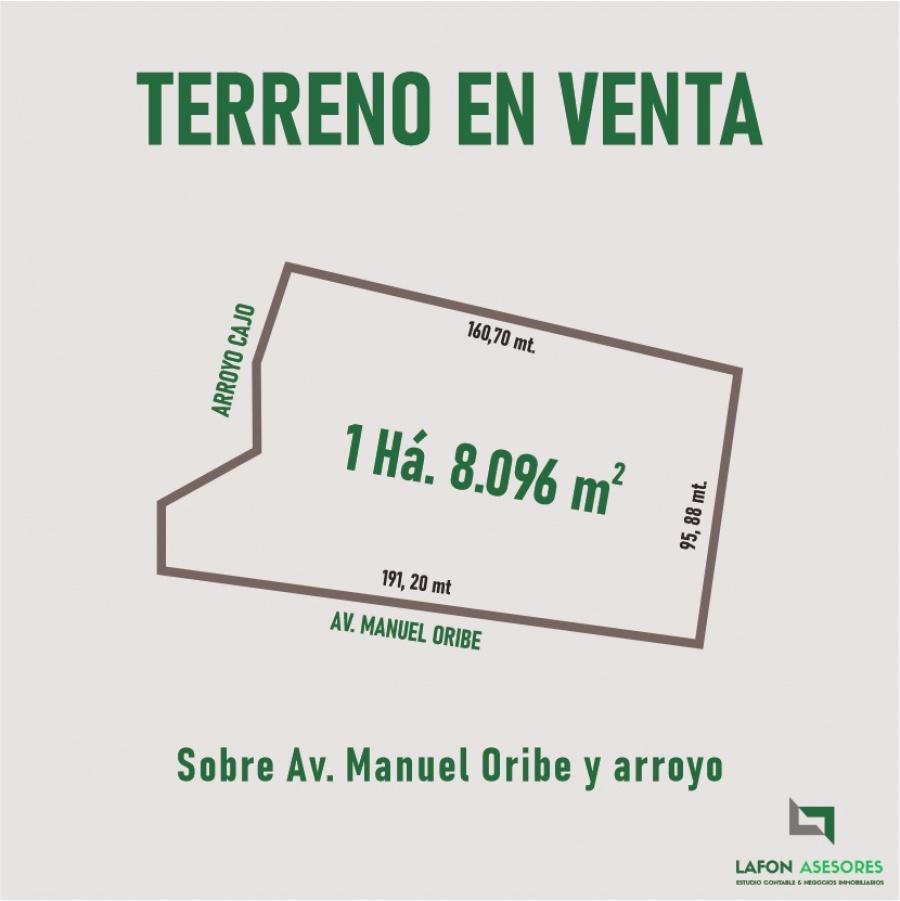 Terreno Av. Manuel Oribe