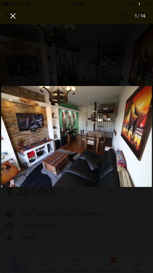 Apartamento en Alquiler en , Montevideo