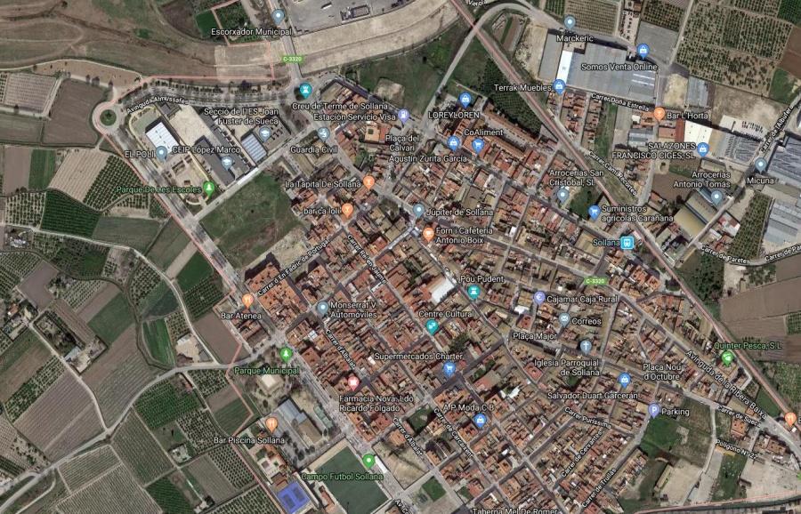 Solar Urbano con 1.000m de Terreno y 7.000m de Techo