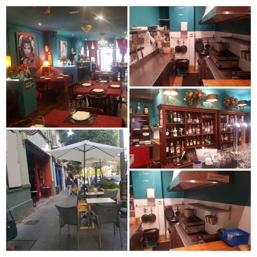 Traspaso restaurante de carácter en la zona de Russafa