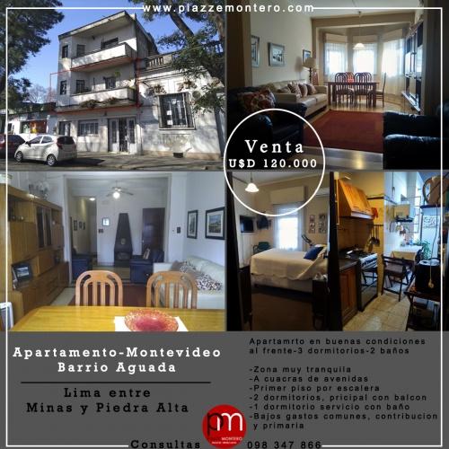 Apartamentos en Venta en Aguada, Montevideo