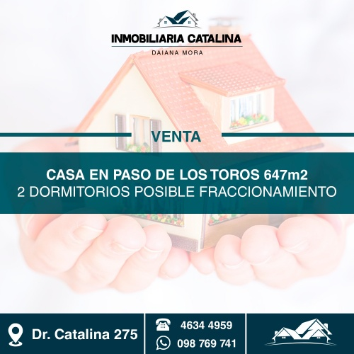 Casa en Venta en Paso de los Toros, Tacuarembó
