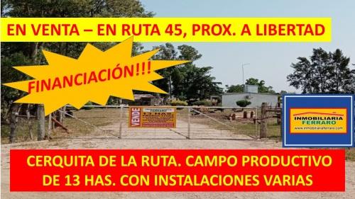 Campo / Chacra en Venta en Libertad, San José
