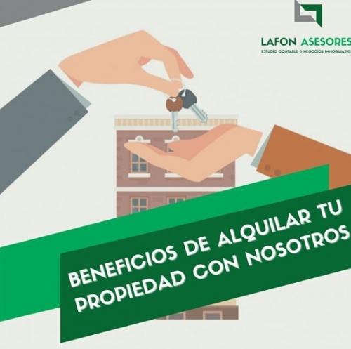 BENEFICIOS DE ALQUILER CON NOSOTROS