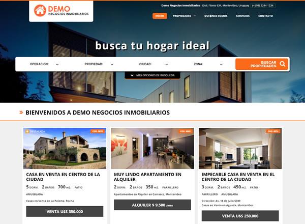 inmobiliaria ya paginas web para inmobiliarias On paginas de inmobiliarias